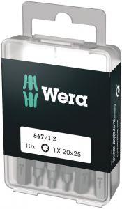 05072408001 867/1 TORX®, DIY-Bits, per 10 stuks verpakt 10xTX 20x25;