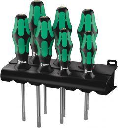 05223161001 367/7 TORX® HF Kraftform Plus Schroevendraaierset met vasthoudfunctie + houder